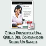 Cómo presentar una queja del consumidor sobre un folleto bancario