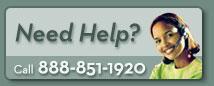 Need Help? Call 888-851-1920